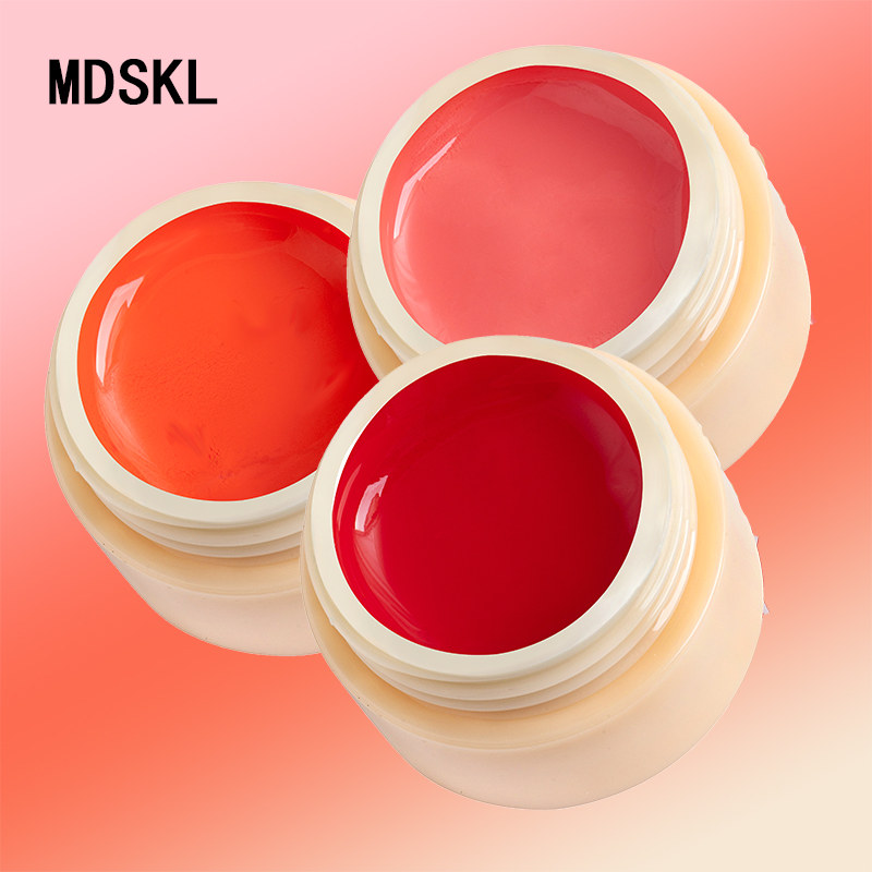 MDSKL Painting Gel 5ml LED Lamp 74 Pure Solid Colors 2017 Hotest Gel Polish Nail Art