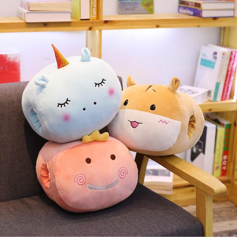 hot soft cute cat plush cushion pillow