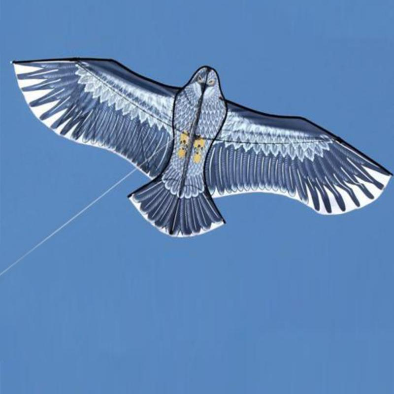 New Outdoor Fun Sports Huge 1.5m/1.8 Eagle Kite High Quality Flying Higher Big Kites With Plastic Handle Factory Price