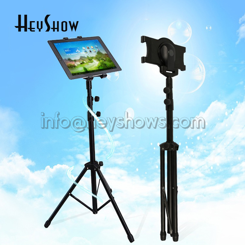 Universal Stretchable Tablet Security Floor Display Stand Ipad Tripod Mount Holder For 7-10.1'' Tablet As iPad 234 Mini 123 Air tripod rotation tablet holder stand for ipad air mini 2 3 4 tablet mount 7 10 inch floor tripod stand for samsung kindle huawei