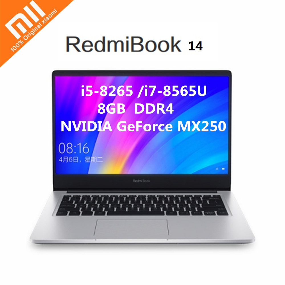 Xiaomi CPU Laptop SSD Intel-Core MX250 NVIDIA I7-8565u 14inch Windows-10 Geforce 8GB