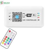 DC12/24 V LED WIFI Controller RGB Steuer Drahtlose Steuerung Timer Sound Controler 16 Millionen Farbe Für 5050 3528 RGB LED Streifen