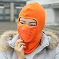 Invierno exterior Thermal Fleece Balaclava sombrero para hombre de la motocicleta mascarilla a prueba de viento del sombrero de la cubierta del cuello carcasa del casco para hombres mujeres