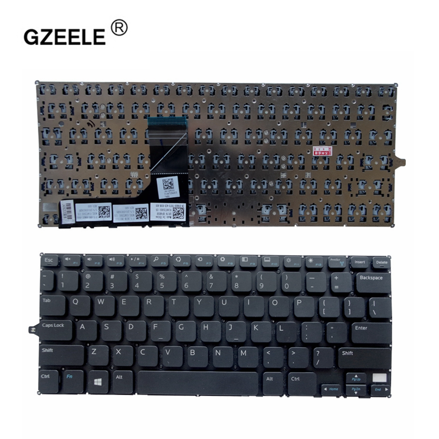 GZEELE US Keyboard For DELL Inspiron 11 3000 3147 11 3148 3138 P20T 3152 3153 3157 3158 7130 2-in-1 Series English 7W4K6 F4R5H