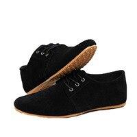 2017 أحذية الرجال عارضة أحذية اليدوية تنفس مريح الشقق المتسكعون جلد ماركة فاخرة الرجال الخف أحذية sapatos