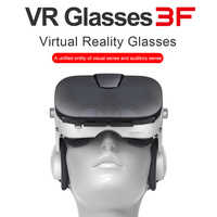 FiiT VR 3F Virtual Reality Glasses 3d Headset Google Cardboard Helmet Goggles Casque 3 D For 4.0-6.4 inch Phone Smartphone