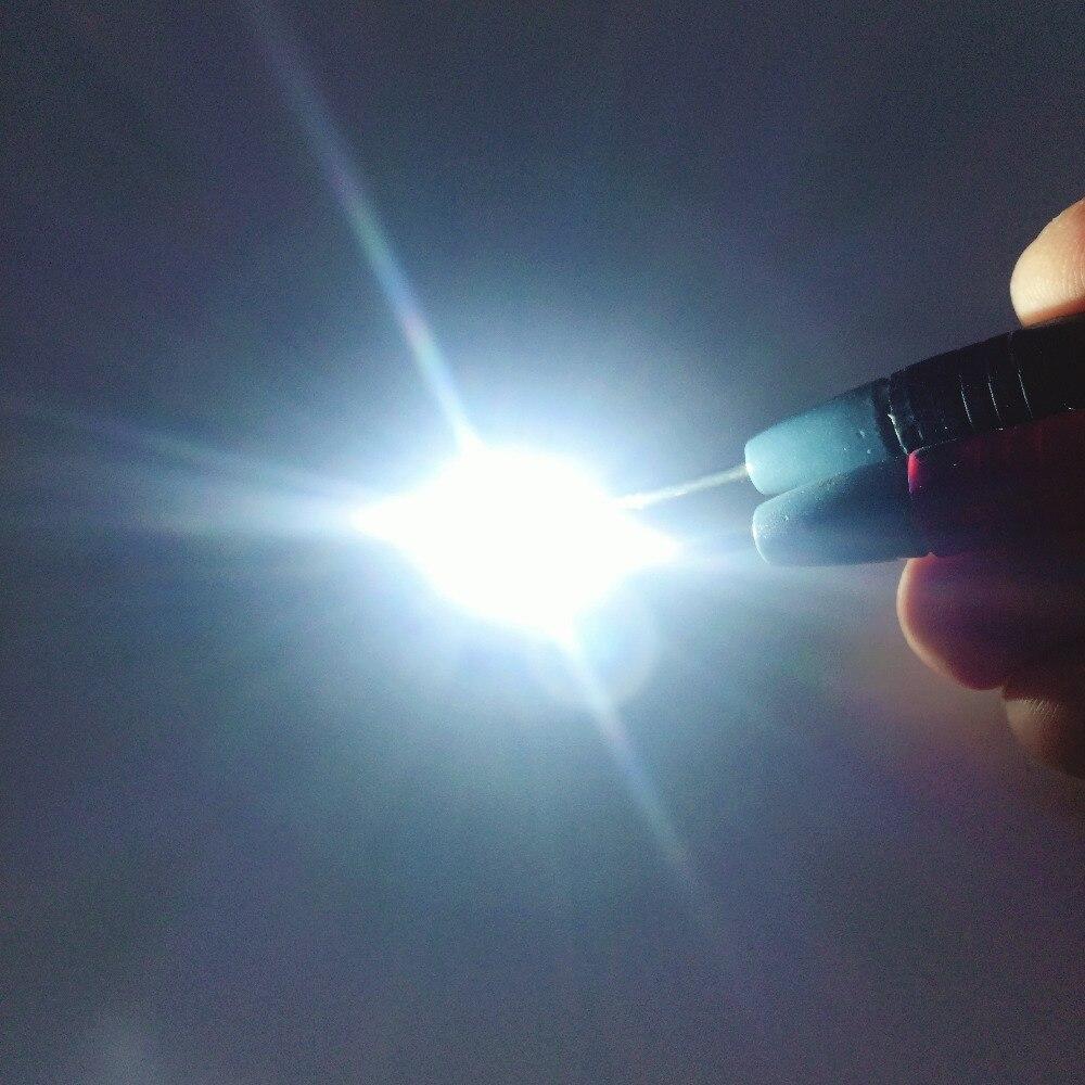 5pcs T6 10W 5050 Emitter Diodes Cool white 3.2-3.6V 3A LED 20mm star