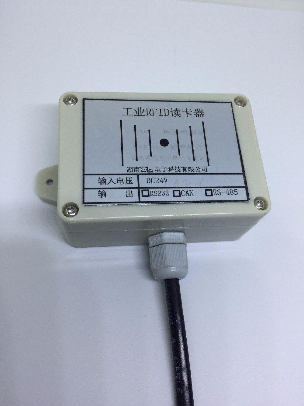 RFID radio fréquence carte AGV voiture repère site capteur RS232/485 distance la plus éloignée 10 CM 13.56 MHZ RFID étiquette dispositif de lecture capteur
