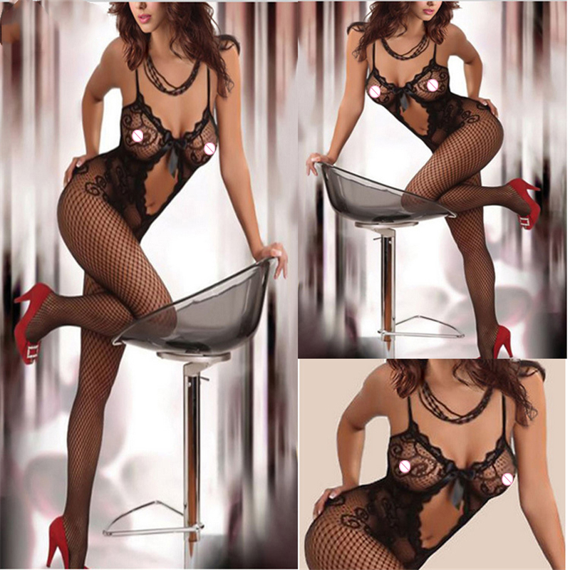 Sexy Lingerie Sexy tights Underwear Sex Products Disfraz Carnavales Bodystockings Erotic Intimates Sleepwear women Fishnet(China)