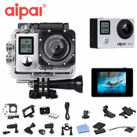 Aipal A1 Action Camera Double Screen 4K Ultra HD 2 0LCD 1080p Sports DV 16MP Remote