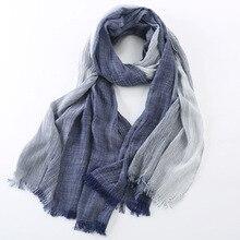 Новинка, Модный зимний шарф для мужчин и женщин, женский хлопковый шарф, теплые женские шали и шарфы, мужские шарфы