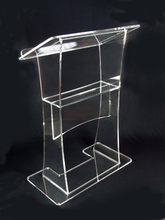 Plexiglass speakers podiums Acrylic podium clear pulpit cheap church pulpit
