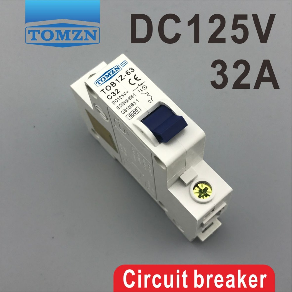 1P 32A DC 125V Circuit breaker MCB g12 7w 650lm 7000k 56 smd 2835 led white light corn lamp white silvery grey ac 100 265v
