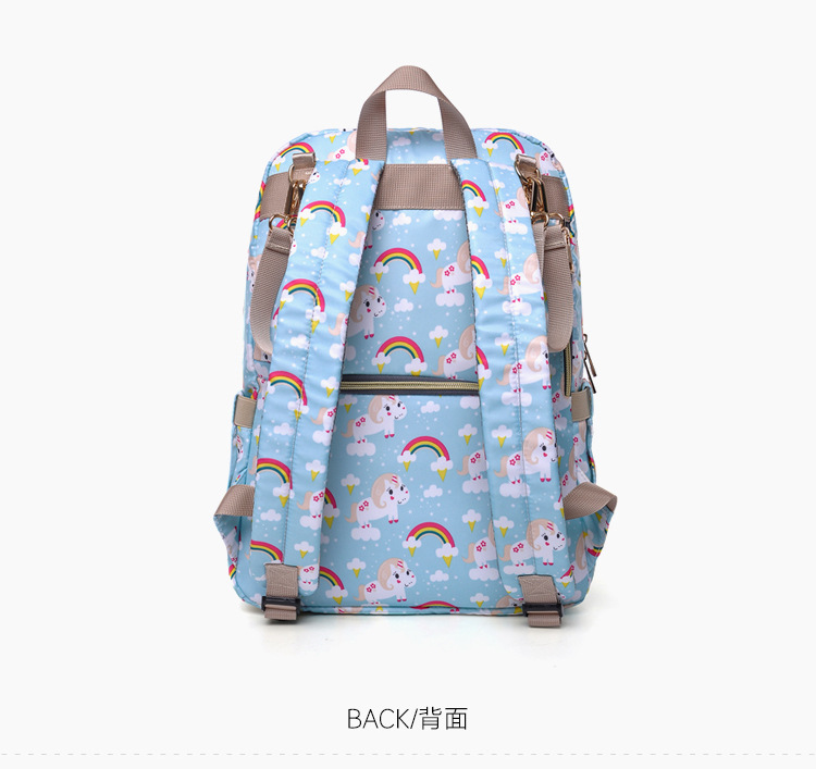 2019 NEW Diaper Bag Mummy Maternity Nappy Bag Women Backpack Nappy Large Capacity Baby Waterproof Travel Shoulder Stroller Bag (19)