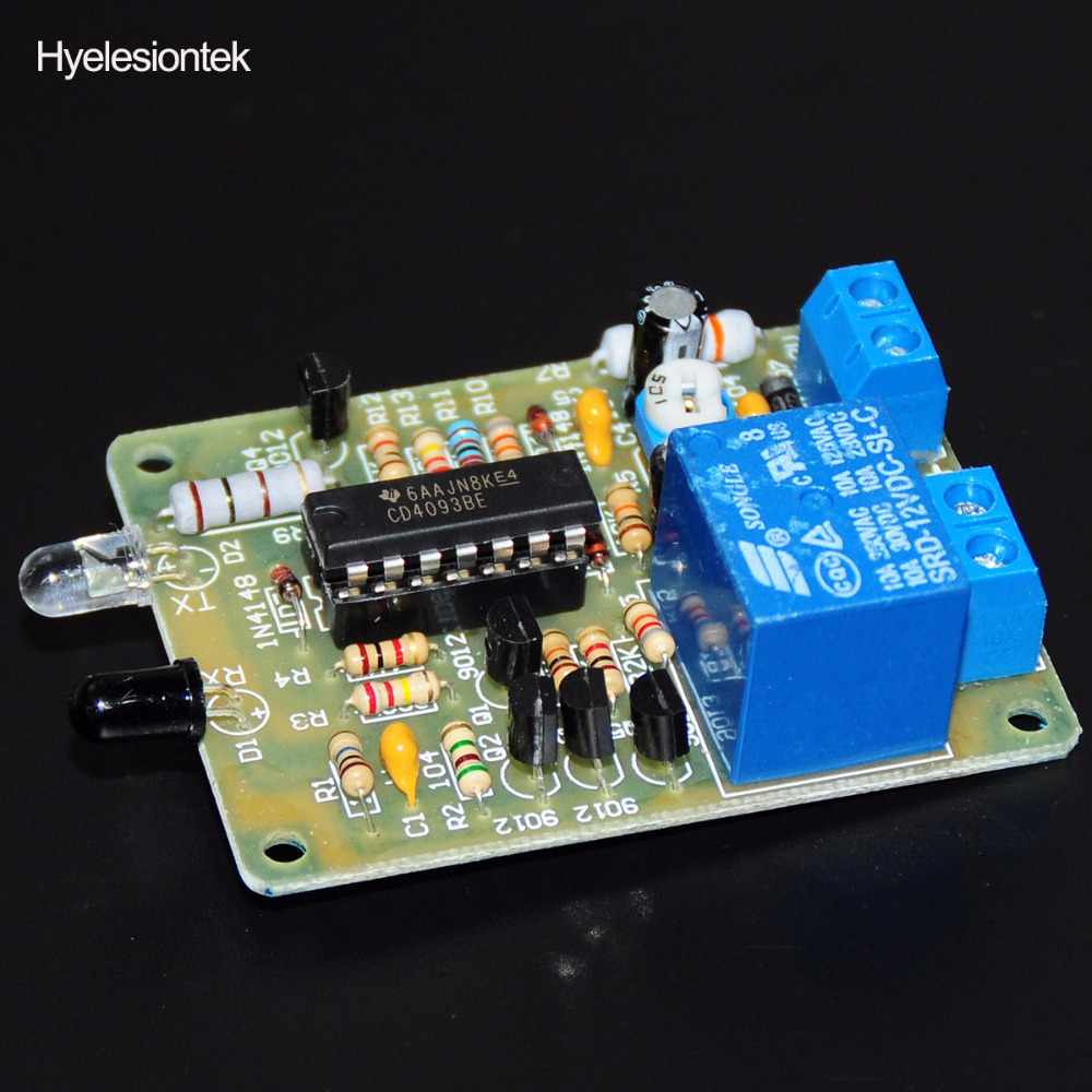 1pcs Infrared Inductive Switch Ir Sensor Proximity Relay Html On Circuit Control Trigger Automatic Faucet Module 12v 250v 10a Flux In Integrated Circuits From