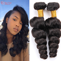 Alimoda Hair 8a Brazilian Loose Wave Virgin Hair 4 Bundles Mocha Hair Products Loose Wave Brazilian Hair Loose Deep Wave Weave