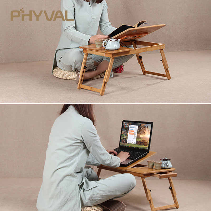 Bamboo Laptop Table Sofa Bed