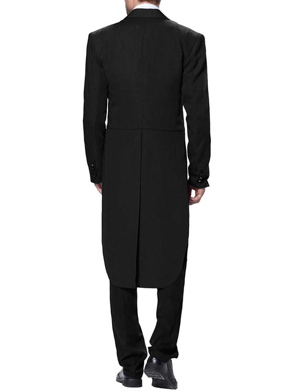 男性のホワイトハウススチュワードドレスレジャータキシード 3 ピースのスーツビジネスブレザージャケットベスト & パンツ