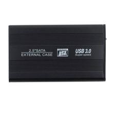 2.5″ USB 3.0 HDD Case Hard Drive SATA External Enclosure Box New