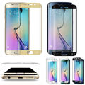 For Samsung Galaxy S7 Edge Full Cover Curved Tempered Glass Screen Protector & Case