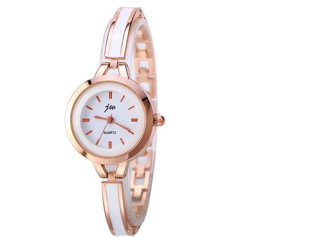 2018 Luxury Brand Jw Quartz Watch Clock Women Full Stainless Steel Bracelet Watc