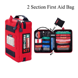 Image 2 - Handy First Aid Kit Waterproof Medical Bag for Hiking Camping Cycling Car Outdoor Travel Survival Kit Rescue Treatment