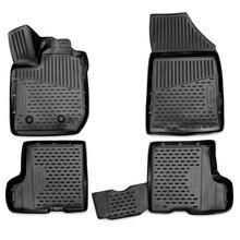 3D коврики для Lada Xray 2016-2018 без ящика для хранения под пассажирским сиденьем ELEMENT3D5237210k