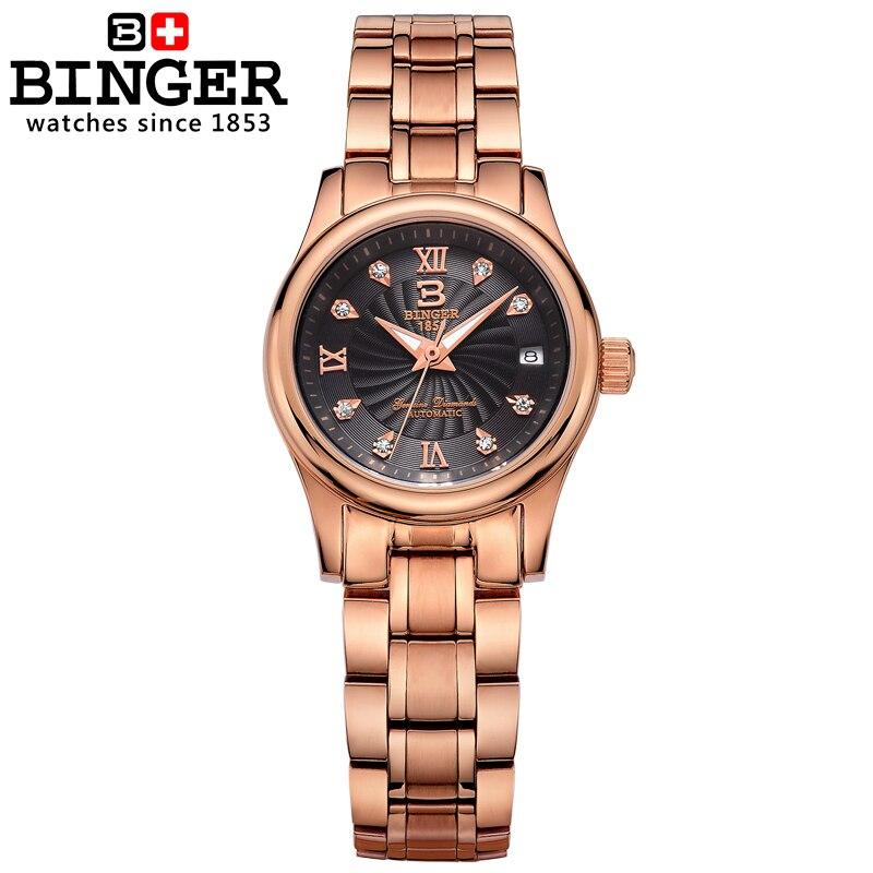 à prova dwaterproof água feminino relógios pulso B-603L-10