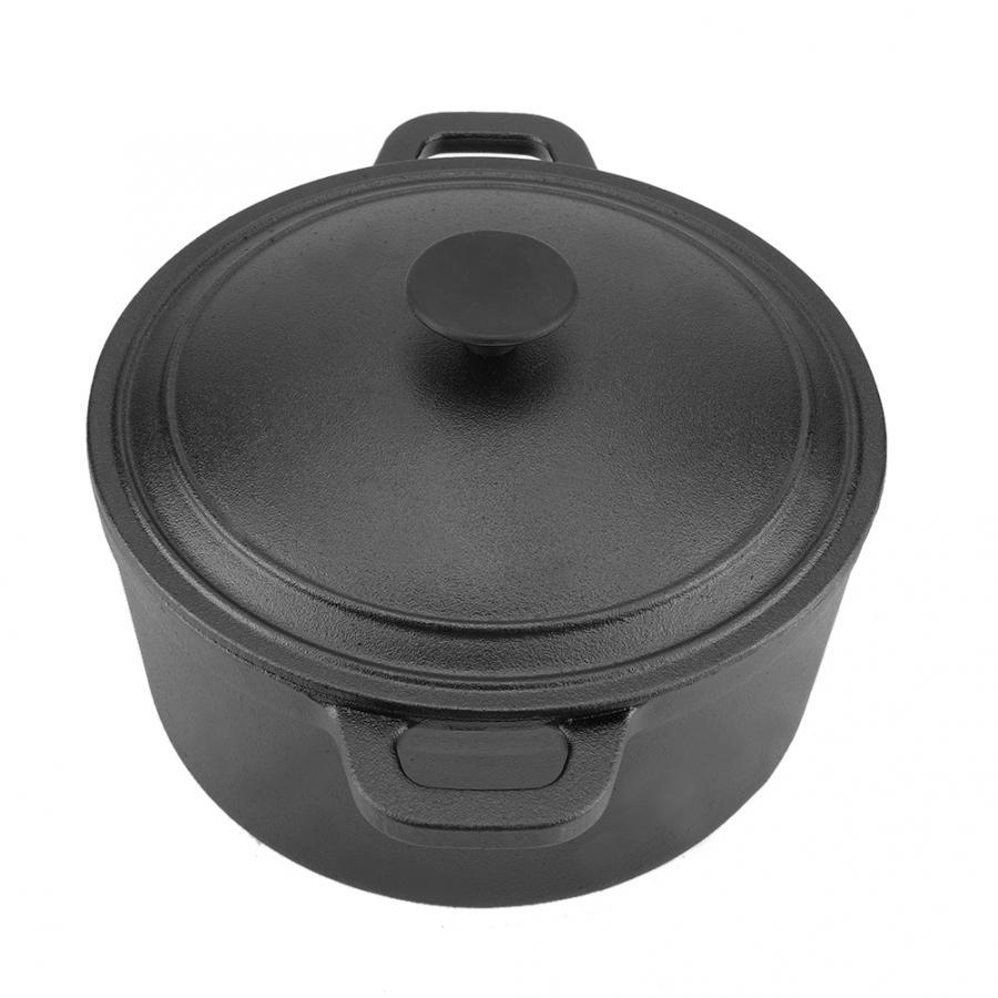 Portable Non-Stick Cast Iron Pot 4