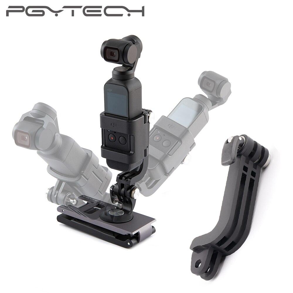 PGYTECH DJI OMSO Pocket Action Camera L Bracket Rotatable Holder Mount For OSMO POCKET Handle Gimbal Accessories