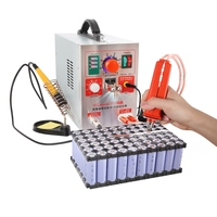 1 unit /lot 220V EU plug 709A 2 in1 Battery Spot Welder Mobile W/Pen Solder Iron Station for 18650 lithium battery pack use