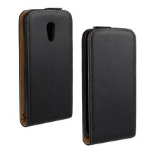 Luxury Genuine Real Leather Case Flip Cover Mobile Phone Accessories Bag Retro Vertical For Motorola Moto G2 PS(China)