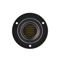 2PCS LOT 2 5 INCH HiFi Aluminum AMT Air Motion Tweeter With KAPTON Diaphragm And Conductive