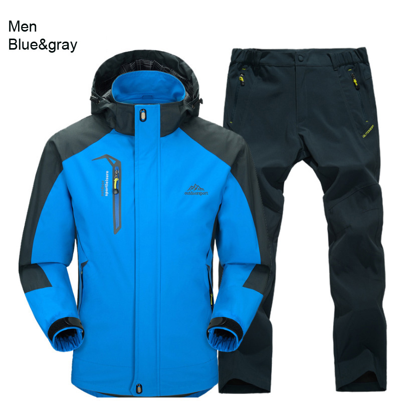 men blue gray