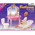 Миниатюрная Мебель Моей Фантазии Жизнь Ванная Комната для Куклы Барби Дома Лучший Подарок Игрушки для Девочки Бесплатная Доставка