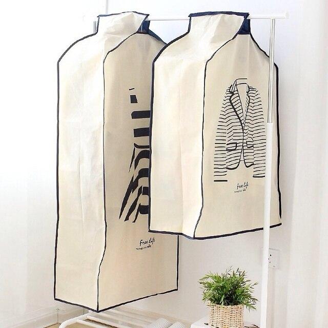Stereoscopic Clothes Dust Cover Coat Suit Dustproof Storage Bag