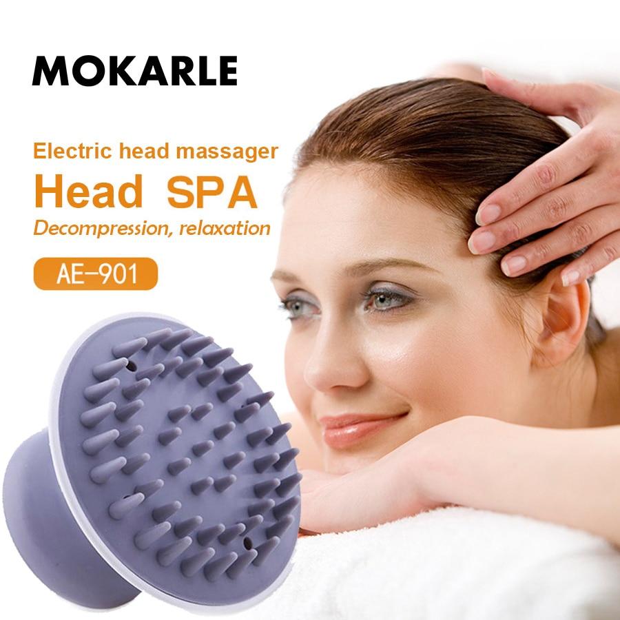 Electric scalp massage comb relieve headache pressure insomnia massage claw Prevent hair loss brush head SPA vibrator body relax
