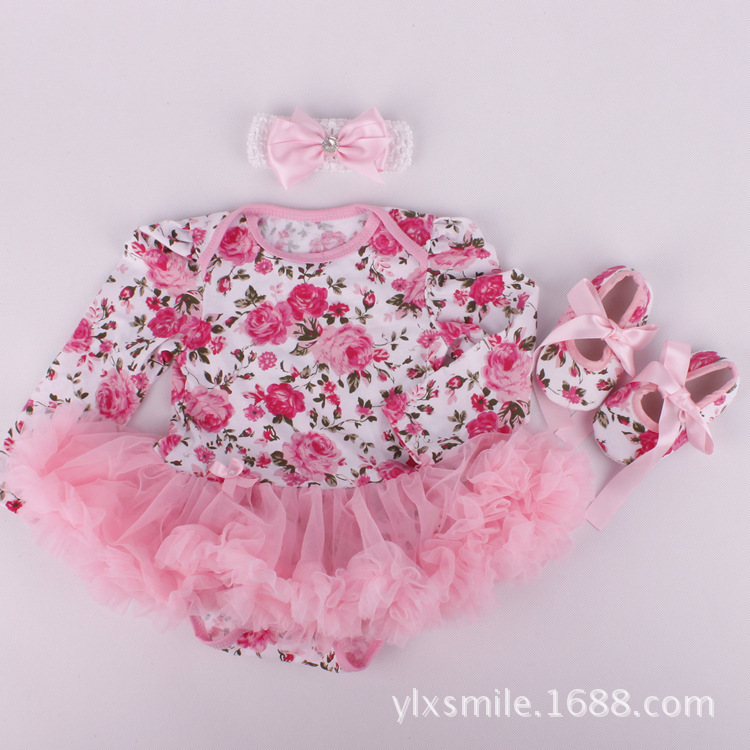 21f3da3e15d uk designer flowers girl girls knit newborn baby dress tutu easter toddler  dresses for kids clothes online babys clothing-in Dresses from Mother   Kids  on ...