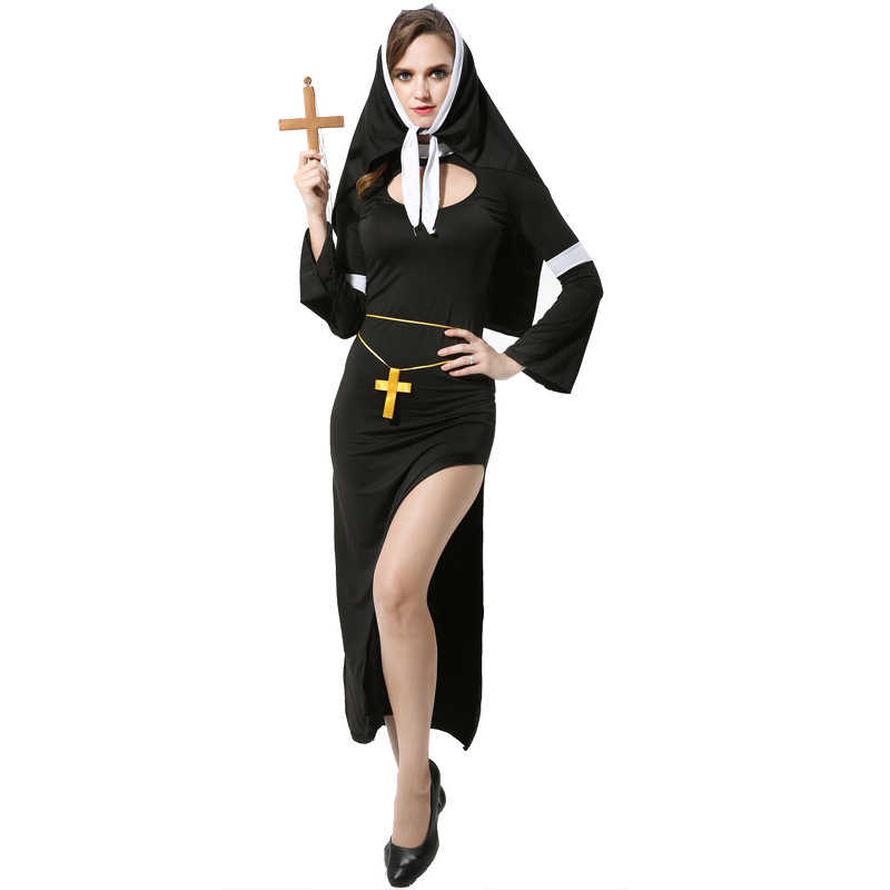 015bcb9df5d4b Detail Feedback Questions about Adult Nun's Halloween Costume ...
