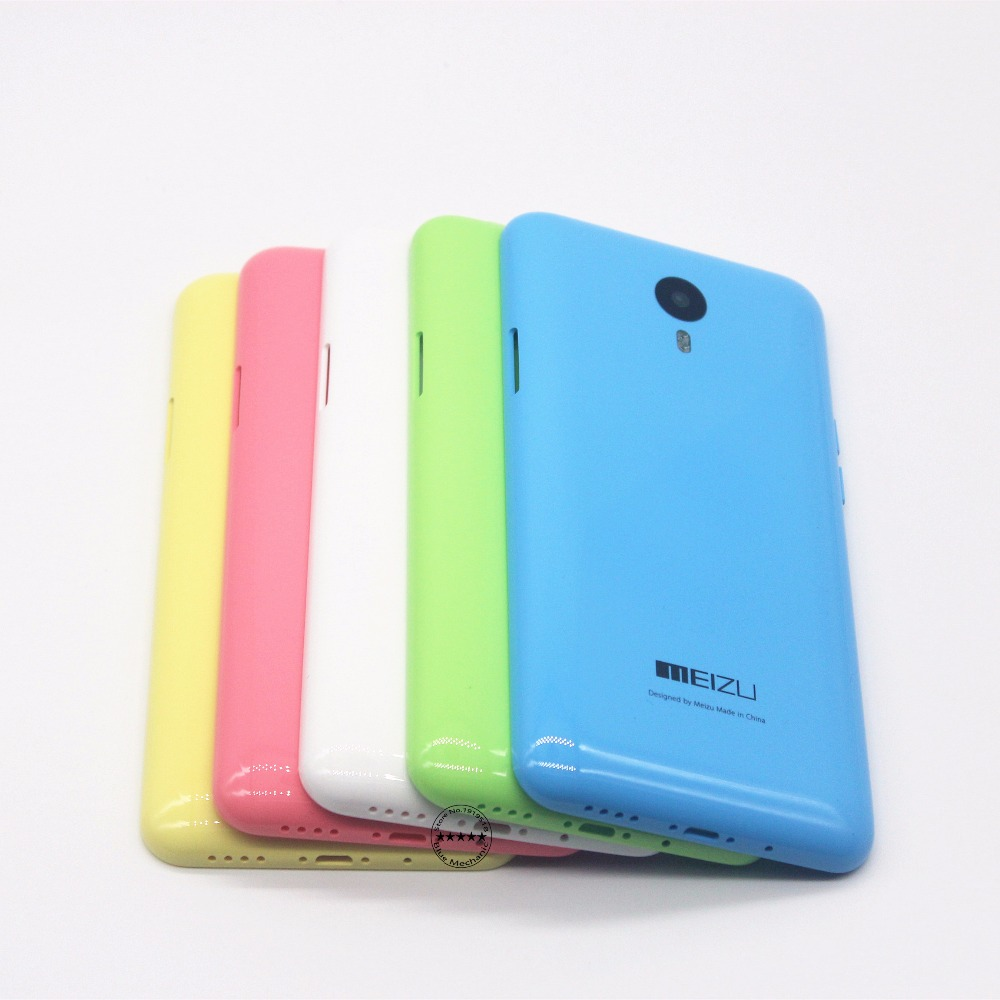 MEIZU M1 NOTE Original Back Shell Housing Door Battery Cover Case Noblue Note Audio  Buttons