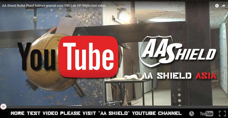 404a02dc ... AA Shield Ballistic MICH Tactical Teijin Middle Cut Helmet Color Black  Bulletproof Aramid Safety NIJ Level