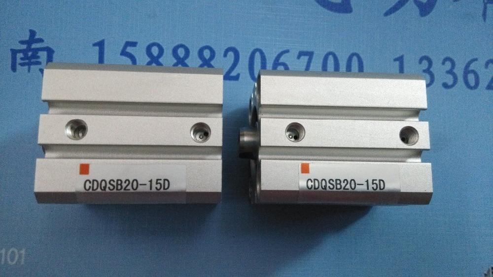 все цены на CDQSB20-15D SMC pneumatics pneumatic cylinder Pneumatic tools Compact cylinder Pneumatic components онлайн