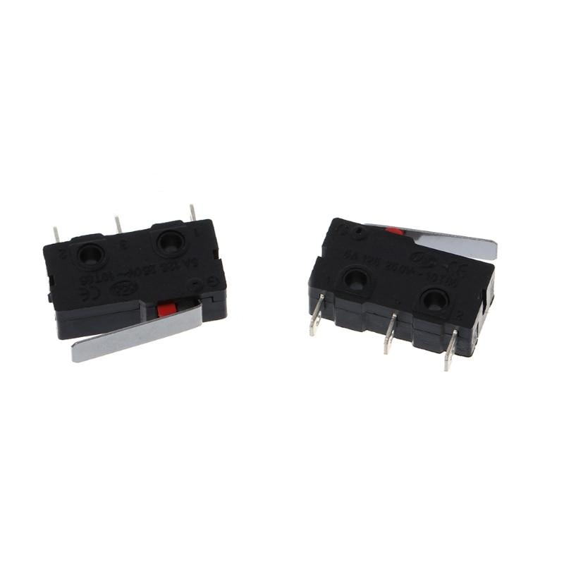 2018 Мода 5 шт. путешествия концевой выключатель 3 Pin N/O N/C 5A 250VAC KW11-3Z микро-переключатель