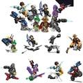 Nuevo 8 piezas Overwatchinglys carácter bloques Compatible LegoINGlys Overwatching gente figuras juguetes para los niños SY1243