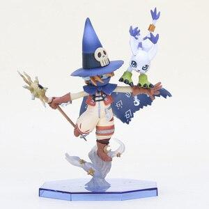 Image 3 - Figurine daventure Digimon Takaishi Takeru & Angemon Angewomon & Yagami Wizarmon figurine daction en PVC modèle collégial Digimon jouet