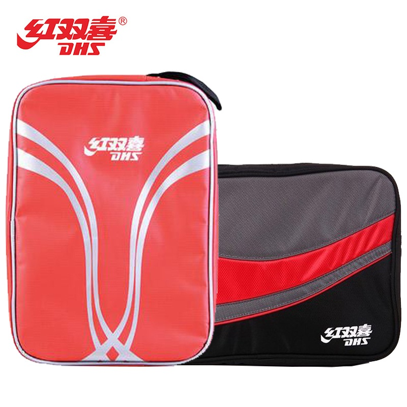 DHS Original Table Tennis Bag Double layers / one layer for 2 Rackets Ping Pong Case ракетки ping pong классический набор для 2 х игроков ping pong