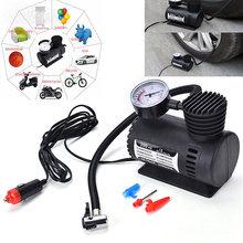 Автомобильный надувной насос электрический компрессор для контроля