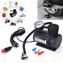 Car Inflatable Pump Electric Tire Pressure Monitor Compressor Portable PSI 12v Pumping Air Tires Electric Tire Inflator Pump