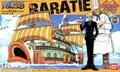 Bandai One Piece navio modelo em escala Baratier