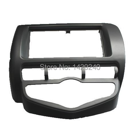 car refitting dvd frame/dvd panel/audio frame for 2006 Honda Fit/Jazz (Aircon auto,for driver in right ) 2DIN frame